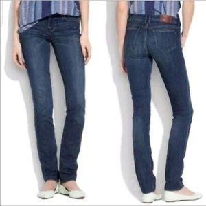 Madewell Rail Street Straight Leg Jeans